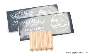 Savinelli 9mm 巴沙木濾心